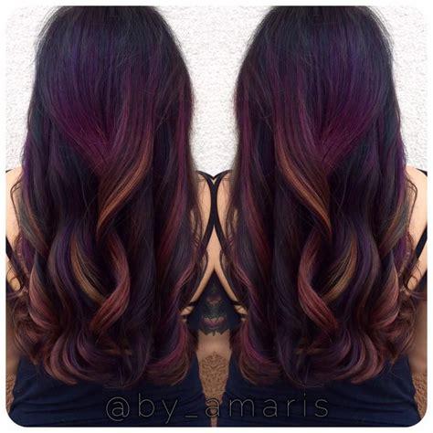 How To Tropical Sunset Haircolor Hair Hair Hair