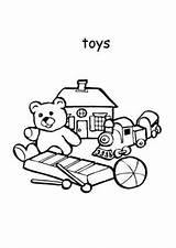 Coloring Toys Boys Pages sketch template