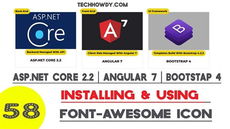 Jul 06, 2020 · in this tutorial, we are going to learn about how to fix the angular cli version is greater than your local version issue. Angular 7 | Installing Font Awesome Icons Library - YouTube