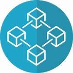 Blockchain Icon Private Technologies Proven App Develop