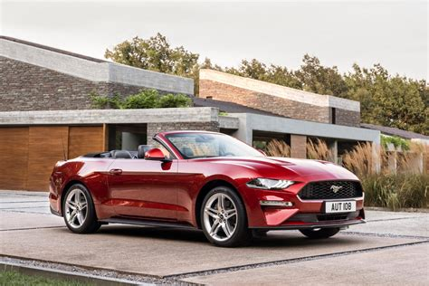 ford mustang cabriolet 2018 ford mustang convertible review trims specs and