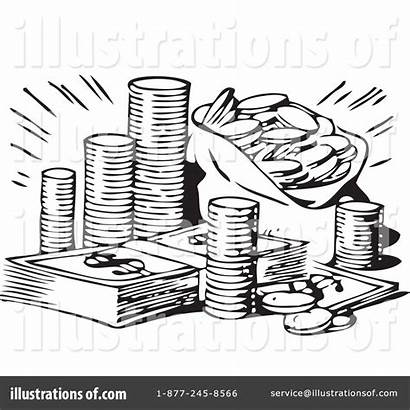 Money Clipart Illustration Royalty Bestvector Rf Sample