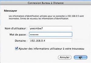 Connexion Bureau Distance Pour Mac Fonctionnalits