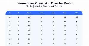 Italian Clothing Size Chart Men S International Size Conversion Chart
