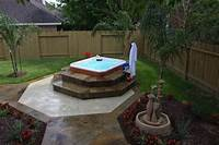 good looking spa patio design ideas landscaping hot tub pictures | ... -Solutions-Custom ...