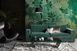 Canape Vert Emeraude : tendances couleurs les teintes tendance de la rentr e 2016 c t maison ~ Teatrodelosmanantiales.com Idées de Décoration