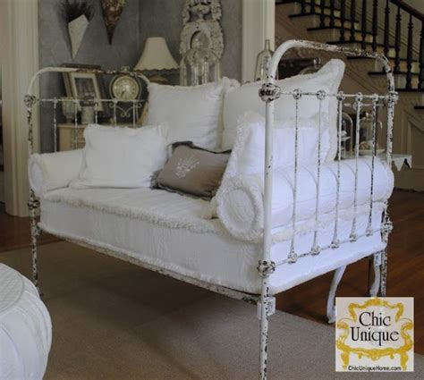 shabby chic daybed oh so sweet daybed living room white grey chippy shabby chic whitewashed cottage french