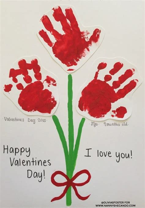 fun  easy valentines day kids crafts simple pink love red  hearts art projects