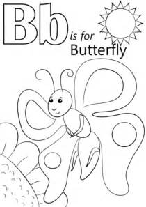 letter    butterfly coloring page  printable coloring pages