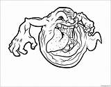 Ghost Funny Coloring Pages sketch template