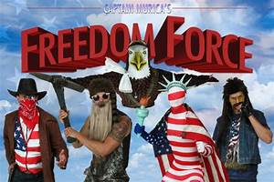 The Captain 'Murica Freedom Force - Halloween Costumes Blog