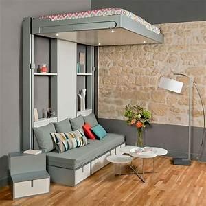 Lit Escamotable Plafond : lit plafond lit vertical escamotable vasp ~ Premium-room.com Idées de Décoration