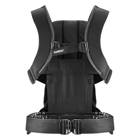 si e ergonomique pour le dos porte bébé we coton noir de babybjorn