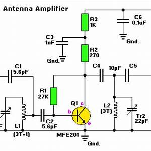 Wifi Antenna Booster Circuit Diagram