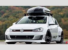 Volkswagen Gold MK7 GTI RS 'Rocket Bunny' Wide Body