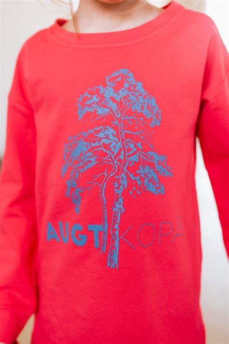 AUGT KOPĀ, KORAĻĻU krāsas džemperis bērniem - - Topi ...
