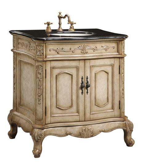 single sink furniture style bathroom vanity