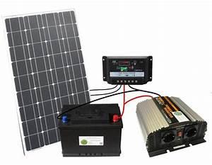 Mini Solaranlage Für Gartenhaus : 100w solar komplettpaket 100ah akku 1000w ~ Articles-book.com Haus und Dekorationen