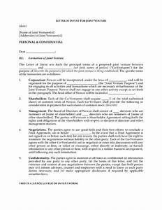letter of intent to form joint venture legal forms and With joint venture letter of intent template