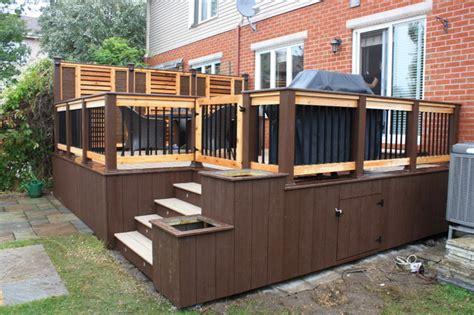 patio deck design 174 contemporary deck