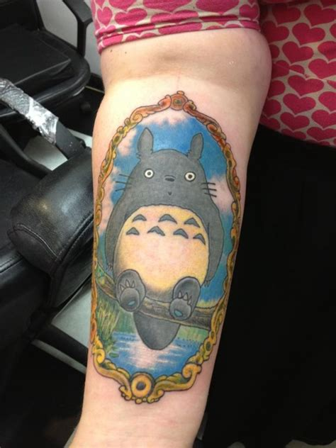 totoro tattoos designs ideas  meaning tattoos