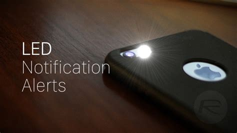 iphone flash notification turn on iphone led flash alerts for notifications here s