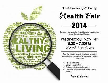Health Fair Community Healthy Lifestyle Active Event