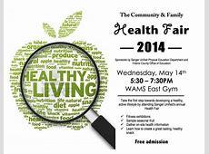 Community & Family Health Fair 2014 The Sanger Scene