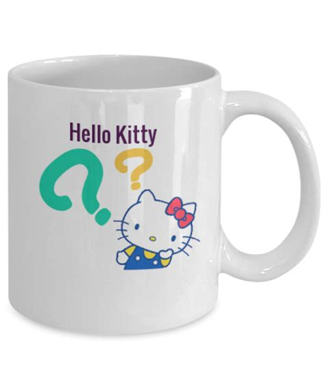 This hello kitty ceramic mug is beautifully crafted to make it one of a kind. Hello Kitty Funny Coffee Mug Makes a great Cat Lover gift | eBay