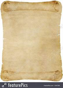 Old Paper Or Parchment Scroll Photo