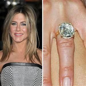 celebrity engagement rings photos With jennifer aniston wedding ring