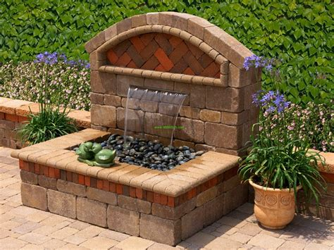 outdoor water feature outdoor water features