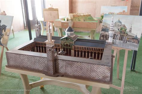h m si鑒e social syrian refugees are recreating demolished monuments in miniature smart smithsonian