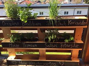 Kräutergarten Aus Europalette : kr utergarten aus europalette europalette zum kr utergarten upcyceln kr uterbeet kr ~ Bigdaddyawards.com Haus und Dekorationen