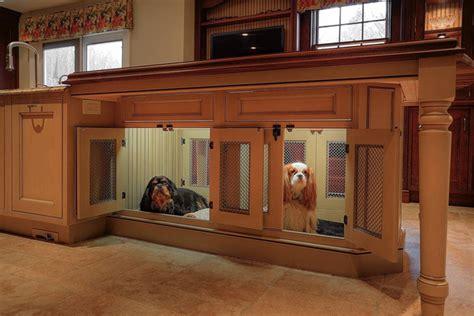 create  pet friendly kitchen custom cabinet