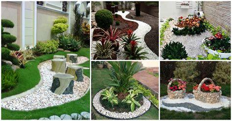 fantasticas ideas  disenar  jardin  piedras