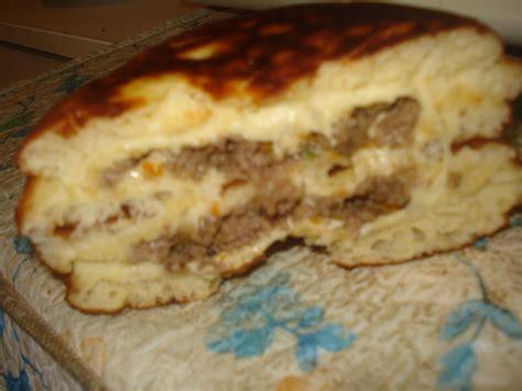 cuisine algeroise traditionnelle pains farcis et frits cuisine algerienne bordjienne