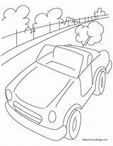 Coloring Highway Pages Mini Bestcoloringpages Cars Vehicles Sheets Sketch Printables Gumby Template sketch template