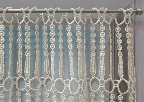 macrame rideau cuisine petit rideau macramé pille petit rideau prêt à poser petit rideau à la coupe