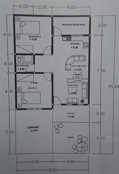 tiny house designs plans small home design tropical comfortable habitation tiny house design