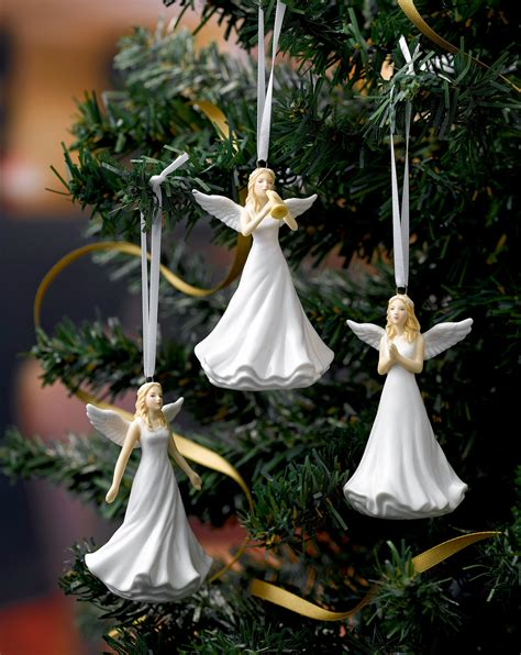royal doulton christmas ornaments angel blessed hn