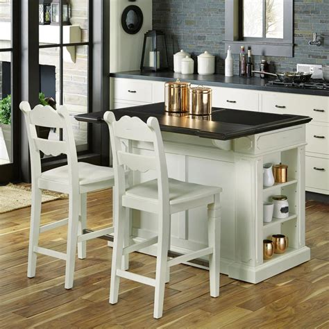 white kitchen island with seating home styles weathered white kitchen island with