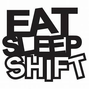 Eat Sleep Shift JDM decal vinyl sticker sticker - JDM ...