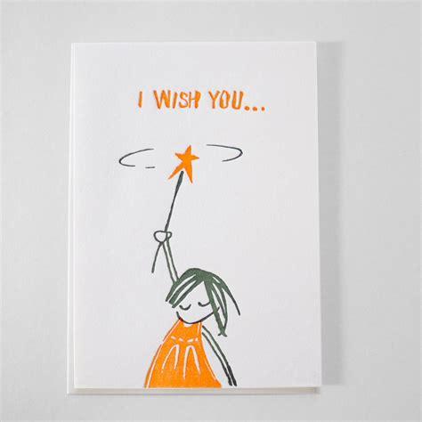 kikisoso letterpress letterpress birthday card