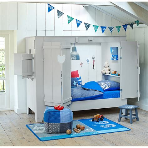 deco porte de chambre cupboard style cabin bed folding doors cuckooland