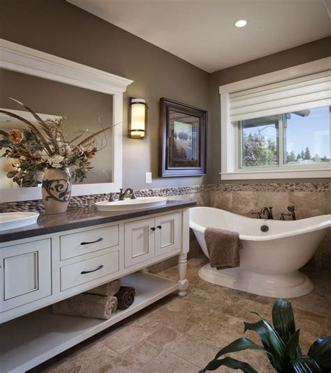 Spa Colors For Bathroom by Winlock Parade Home Master Bath Spa Like Master Bathroom