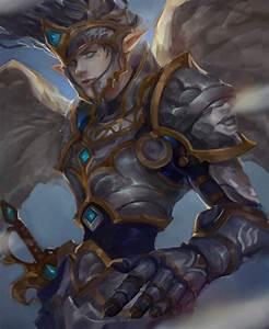 Elves, Warrior, Angel, Armor, Fantasy, Art, Wallpapers, Hd, Desktop, And, Mobile, Backgrounds