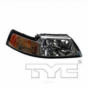 TYC Headlight Assembly 2000 Ford Mustang-20-5695-01 - The Home Depot