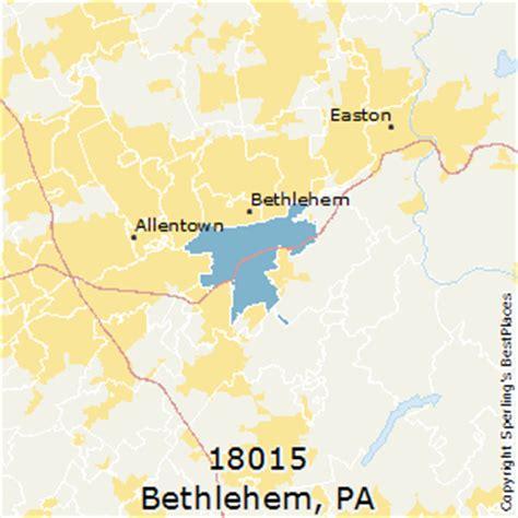 places    bethlehem zip  pennsylvania