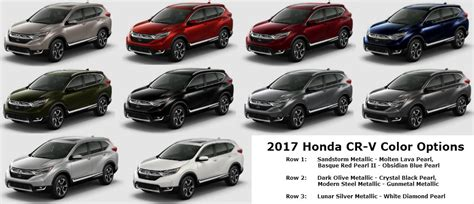 honda crv 2017 colors interior colors of 2017 honda crv trend rbservis com